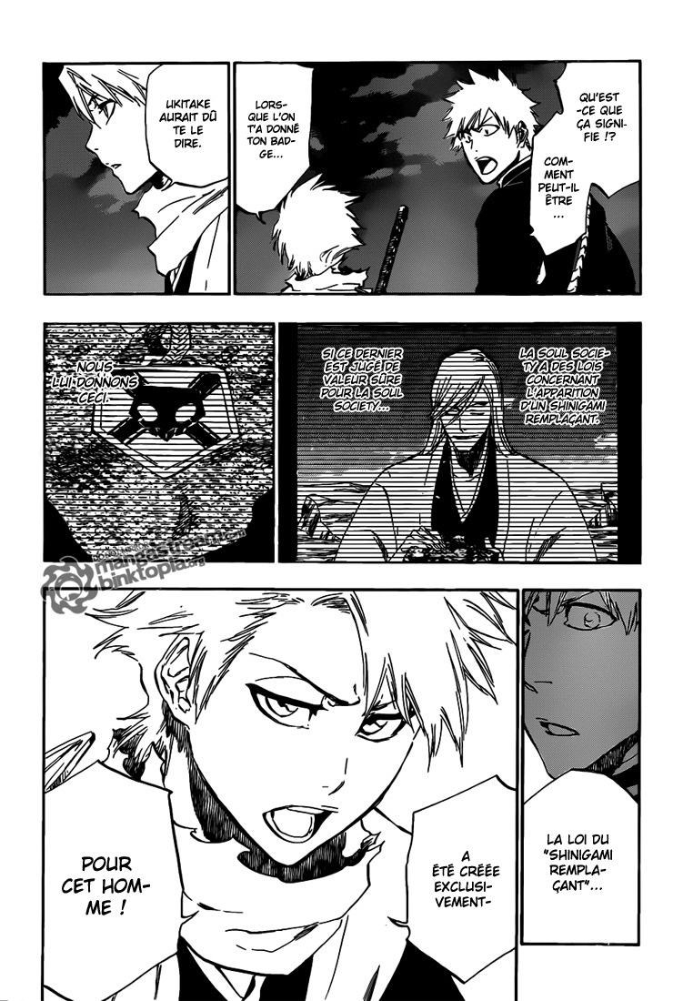 Chapitre Scan Bleach 462 VF Page 03